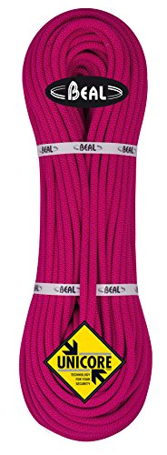 BEAL C094.80 - Cuerda de escalada, color blanco (fuchsia), talla 9,4 mm x 80 m