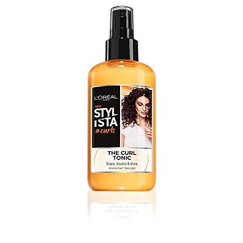 L'Oréal Paris Stylista Curls Spray Capelli per Ricci Definiti ed Elastici, Formula senza Alcool Arricchita con Bacche di Goji, 200 ml