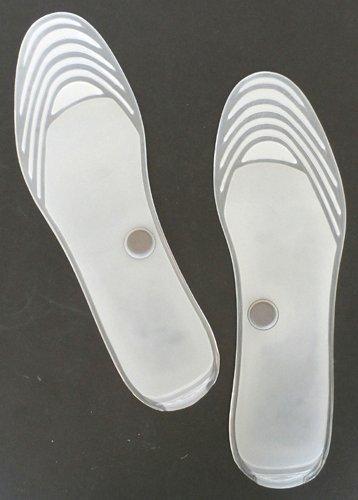 COOLMP Lot de 3 - Paire de Semelles Transparentes Confort Gel & Aimant 5