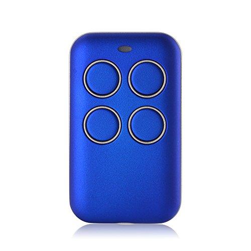Kreema Llave multifrecuencia Fob 433 868 315 MHz Universal Garage Door Clonación Control remoto Código fijo Rolling Code Duplicator Blue
