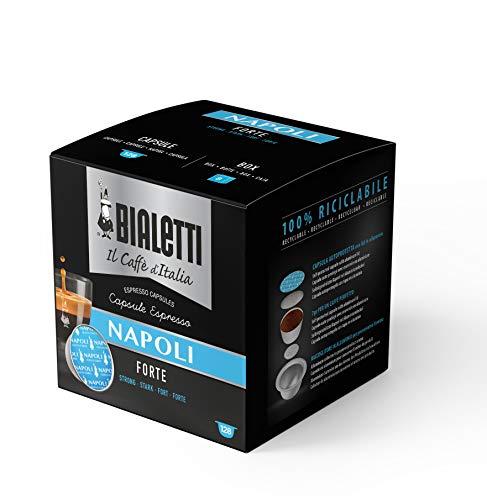 Bialetti Caffè d'Italia Napoli (Gusto Forte) - Multipack 128 Capsule