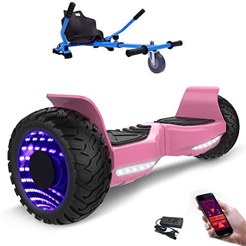 Hoverboard con ruote 8.5 pollici, inlude kart, Balance Board SUV Off-Road, 700W con app, Bluetooth e...