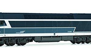 ARNOLD HN2381S Diesellokomotive CC 72065 der SNCF, Blau, Cap Logo/Digital mit Sound Model Railway, Blue 41xiqYZEcOL