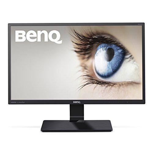"BenQ GW2470HL - Monitor para PC Desktop de 23.8"" Full HD (1920x1080, VA, 16:9, 2x HDMI, VGA, 4ms, contraste nativo 3000:1, Eye-care, Flicker-free, Low Blue Light Plus, diseño bizel fino), color negro"