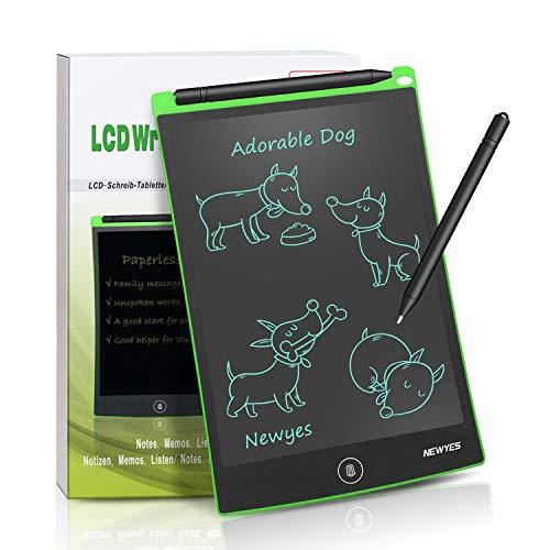 Tavoletta Grafica LCD Scrittura Digitale - NEWYES NYWT850 - Elettronica 8,5 Pollici Lavagna Bianca...