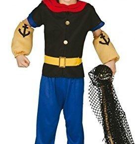 Disfraz de Marinero Popeye para niño - 7-9 años
