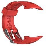 Orologio sportivo silicone orologio da polso, Wristband fascia di ricambio per Garmin Forerunner 1015GPS running Watch Small/Large con strumenti