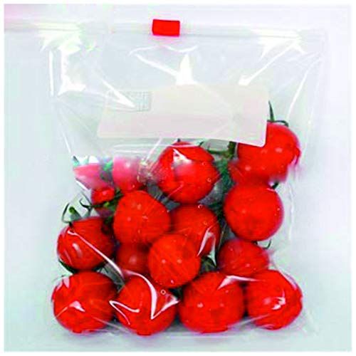 """ZIPZAG Plastic Zipper Seal Food Storage Bags Loose Pack of 10(11"""" X 11""""),Large Size"""