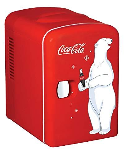 Coca-Cola kwc4frigorifero, elettricamente, Unisex, per adulti, Rosso
