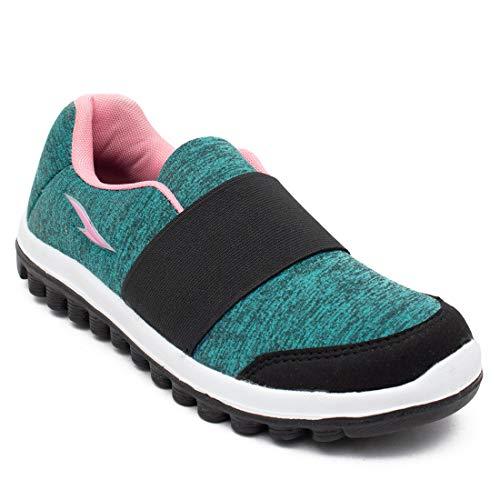 ASIAN Sketch-23 Green Sports Shoes,Running Shoes,Gym Shoes,Walking Shoes,Training Shoes,Loafers for Women UK-7