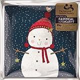Pack de 8de muñeco de nieve en Bobble sombrero tarjetas navideñas vendido en ayuda de la Sociedad autistas Nacional