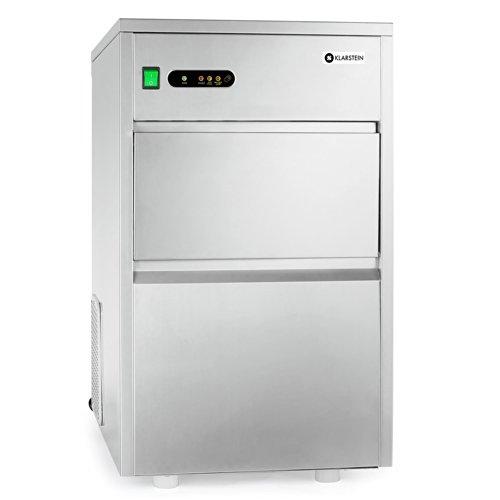 Klarstein macchina per cubetti ghiaccio industria • Ice Maker • 20 kg/24 h • 240 watt •...