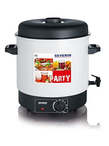 SEVERIN EA 3653 Einkoch- und Heißgetränkeautomat (1.800 W, Inhalt: 29 Liter oder 14 à 1L Rundrandgläser (100), mit Auslaufhahn)
