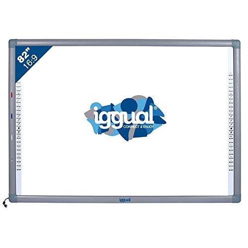 Pantalla táctil USB Gris, pizarra y accesorios interactivos - Accesorio pizarra interactiva (USB, USB Type-A, 100 mA, CE, FCC, ROSH, ISO, Gris, Color blanco, 1776 mm)