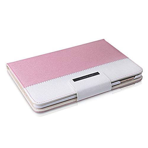 iPad Mini 2 Case,Thankscase Rotating Case Smart Cover (Not Fit Mini 4) with Wallet Pocket with Hand Strap Case for iPad Mini 3,iPad Mini 2 with Retina Display and iPad Mini 1st Gen.(Rose Gold)