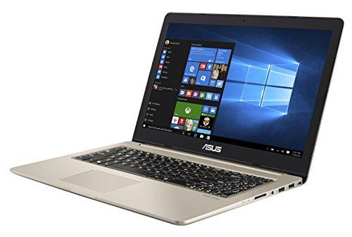 Asus VivoBook Pro Notebook, 15.6' 4K/UHD IPS, Intel Core i7-7700HQ, RAM 16 GB, HDD da 1TB e SSD da...