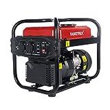 Matrix 160100475 Stromgenerator Stromerzeuger, 2000 Watt, Benzin, Leise, 4 Takt Motor, 10 Liter Tankvolumen