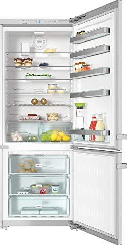 Miele KFN 15943 D EDT/CS frigorifero con congelatore Libera installazione Acciaio inossidabile 446 L...