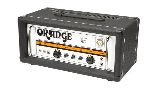 ORANGE AD200B MKIII BLACK Bass guitar amplifiers Bass heads