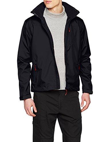 Helly Hansen Herren Crew Hooded Midlayer Jacket Jacke, Blau (Navy), L