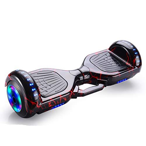 DingD Scooter Elettrico Auto-Balance Hoverboard Scooter elettrici Intelligente Skateboard Auto...