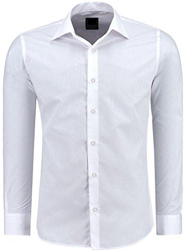 Herren-Hemd – Slim Fit – Bügelfrei / Bügelleicht – Für...