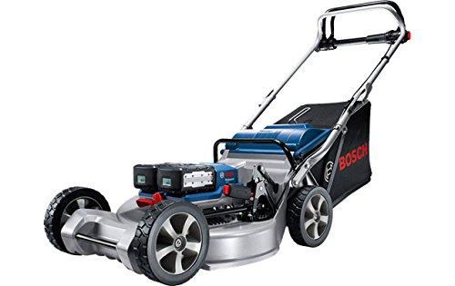 Bosch Professional GRA 53 Rasaerba a Batteria, 432 W, 53 cm, 75 l, Blu