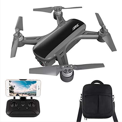 ETbotu Regalo di natale, Droni telecomandati, JJRC X9 Heron GPS 5G WiFi FPV con posizionamento del flusso ottico della fotocamera 1080P RC Drone Quadcopter RTF VS DREAM Nero + zaino