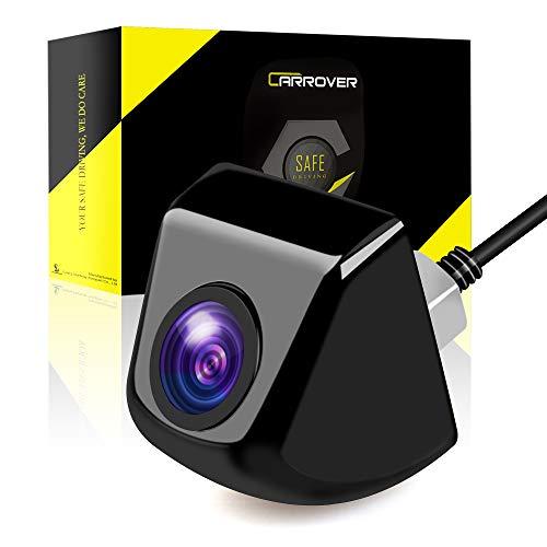 CAR ROVER Ad Alta Definizione Fotocamera CCD Impermeabile Macchina Fotografica di Retrovisione con Ampio Angolo di Visione (Nero)
