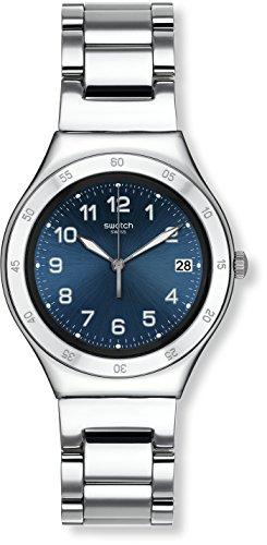 Swatch Damenuhr Digital Quarz mit Edelstahlarmband - YGS474G