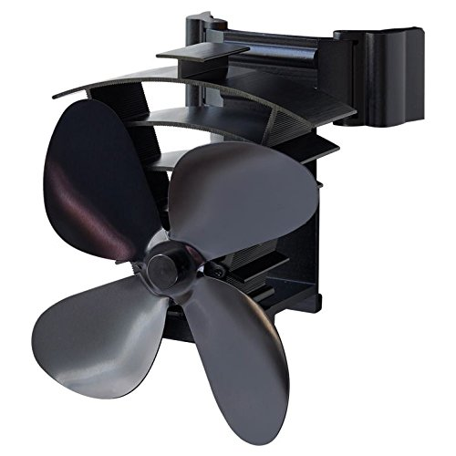 Valiant Remora Magnetic Flue Pipe Heat Powered Stove Fan (FIR350)