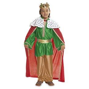 My Other Me - Disfraz de Rey Mago, Talla 3-4 años, Color Verde (Viving Costumes MOM00469)