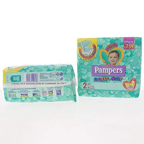 Pampers Baby Dry Mini Pz.24