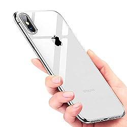 Kaufen UBEGOOD iPhone X Handyhülle, iPhone X Schutzhülle Anti-Shock Kratzfeste iPhone X Silikon Hülle Premium TPU Cover iPhone X Bumper Case für iPhone X Case Cover