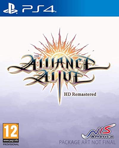 Giochi per Console Nis America Sw Ps4 1034044 The Alliance Alive HD -Aw