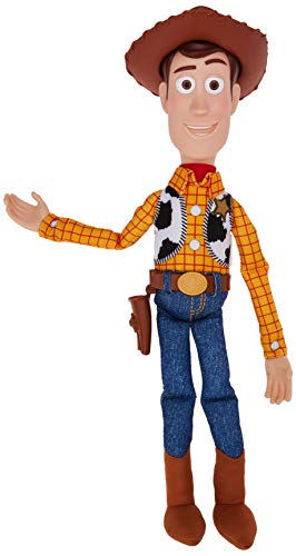 Lansay- Toy Story 4-Woody Personnage Parlant Figurine, 64613