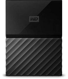 WD My Passport - Disco Duro portátil de 4 TB y Software de Copia de Seguridad automática, Negro