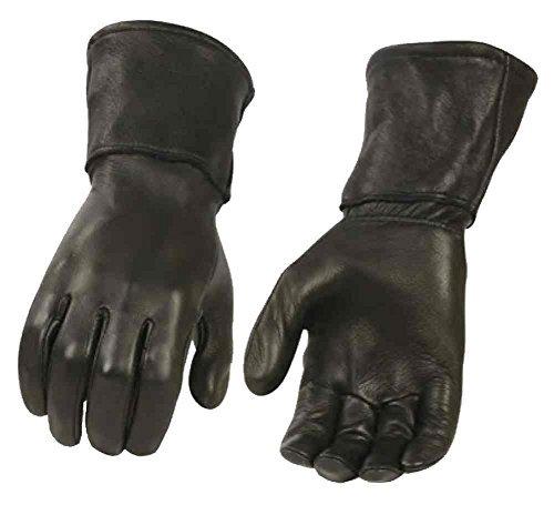 Milwaukee guanti in pelle da uomo in pelle pelle di daino termico, nero G317