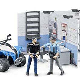 Bruder 62730 Bworld – Stazione di Polizia, Multicolore