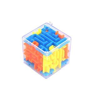 Togames-ES 6 Lados Laberinto Tridimensional Laberinto Mágico Universal 3D Bebé Inteligencia de Juguete Juguetes Educativos Portátiles Regalos para Niños