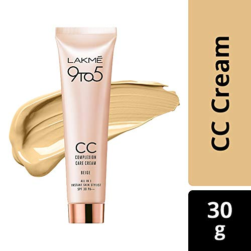 Lakmé 9 to 5 Complexion Care Face Cream, Beige, 30g