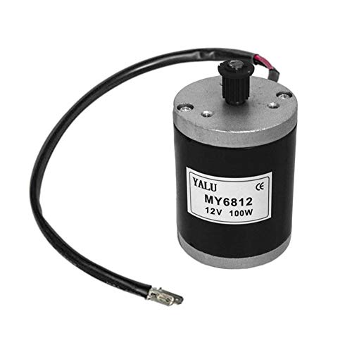iBaste - Motore Elettrico per Scooter, 12 V, 100 W, 2700 Giri/min, Multifunzione