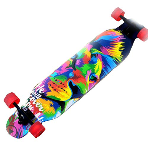 Monopattini freestyle Skateboard Longboard Female Dance Board Brush Street Skateboard Professionale...
