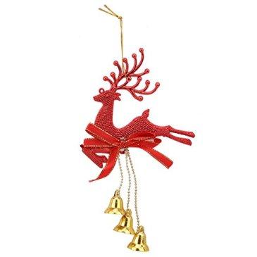LJSLYJ Arbre de Noël Décoration de Noël de Renne Ornements Suspendus Babioles
