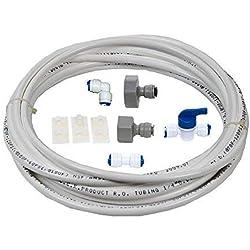 """VYAIR DA97-01469D Kit de instalación y conexión de filtro de agua para Samsung American Style Fridge con dispensador integrado de hielo y agua (incluye 5 metros de tubo de diámetro de 1/4""""/ 6,4 mm)"""