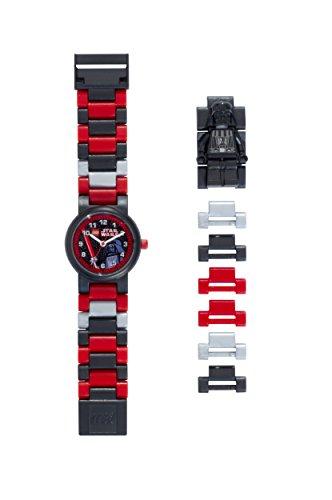 LEGO Star Wars 8020417 Orologio da polso componibile per bambini con cinturino a maglie e minifigure...