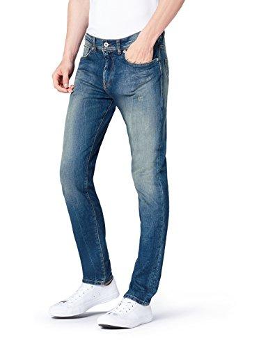 FIND Jeans Skinny Uomo, Blu (Timor Wash), W30/L34 (Taglia Produttore: 30)