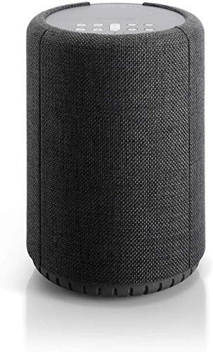 Audio Pro A10 Lautsprecher (52 Watt, Multiroom, Airplay, WLAN, Bluetooth, Musik Apps (Spotify, Tidal, Deezer), TuneIn Internetradio, App) Dunkel Grau