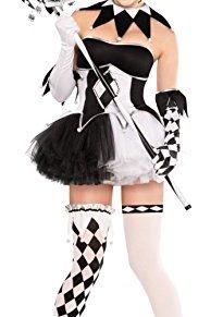 Christy's Tricksterina - Disfraz para Halloween (talla 42-44, para mujer)