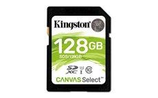 Kingston SDS/128GB - Tarjeta de Memoria SD (Micro SDS, 128 GB, UHS-I, Clase 10, hasta 80 MB/s)